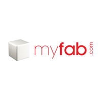 myfab was a European company that sold designer furniture at bargain prices. Market Extend organized the U.S. test launch for myfab.com. myfab was acquired by Fab in 2013.